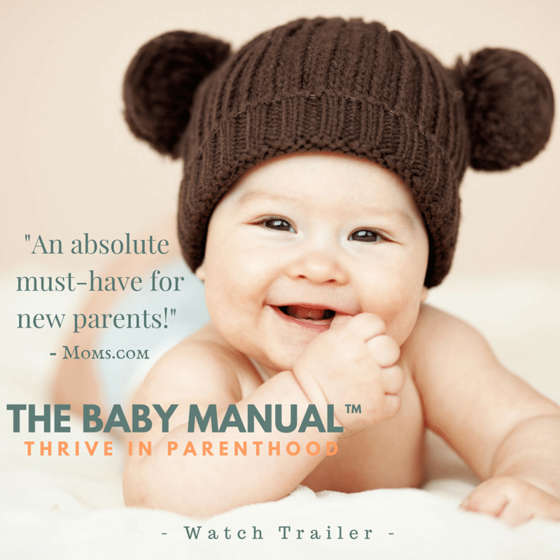 WATCH TRAILER for award winning baby care video program that empowers new moms and dads to Thrive in Parenthood