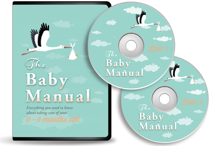 baby care manual dvd with-discs-parenting-program