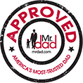 Mr Dad Approved - best Baby care